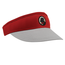 Red and Grey Visor